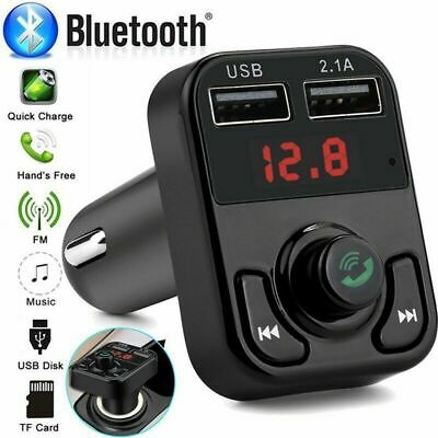 FM Transmitter Wireless Bluetooth Car Kit Radio Adapter MP3 Player USB Charger