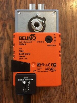 Belimo LU24A Full-rotation actuator 3 Nm, 150 s / 360° / constant, endless