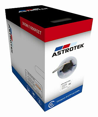 Astrotek CAT6 FTP Cable Copper Wire Ethernet LAN Network Roll 23AWG 300m