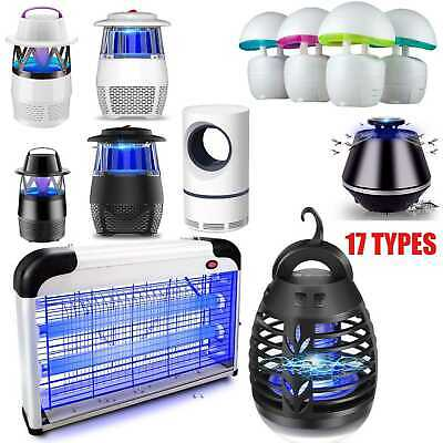 UV Light Insect Killer Mosquito Zapper Fly Bug Trap Catcher Outdoor Tent Lamps