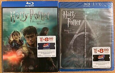 New Harry Potter Year 7 Pt2 Bluray 2 Disc Walmart Exclusive Lenticular Slipcover