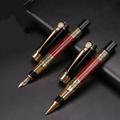 Luxury Metal Redwood Fountain Pen Ballpoint Pen Business Writing Office School
