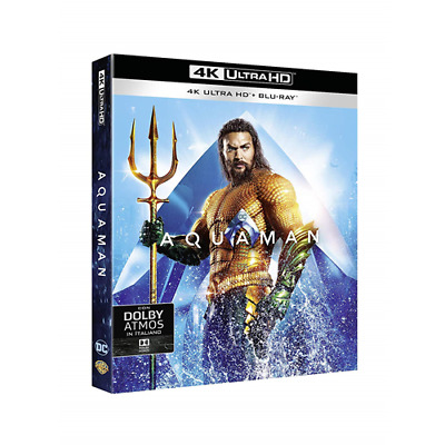 Aquaman (4K Ultra Hd + Blu-Ray)  [Blu-Ray Nuovo]