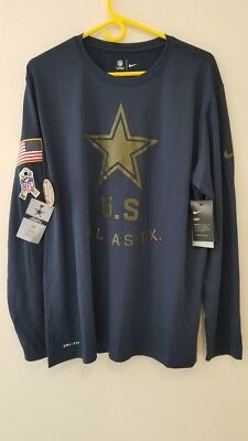 5ac1a6ed5 2018 DALLAS COWBOYS Nike Olive Salute To Service Men s Sideline ...