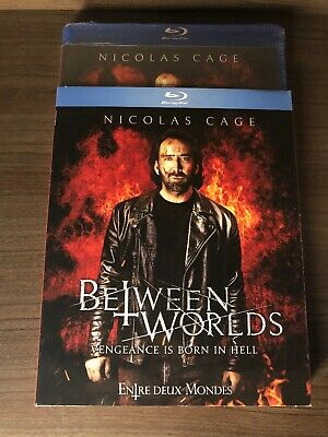 BRAND NEW Between Worlds Blu Ray w SlipCover Art Canada Sealed 2019 Nicolas Cage