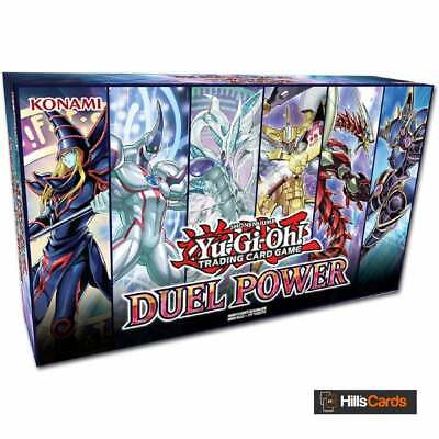 YuGiOh Duel Power Box New & Sealed Contains 6 Booster Packs All Ultra Rare Cards