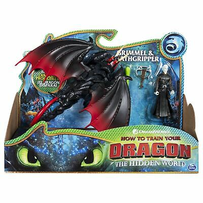 DreamWorks How To Train Your Dragon Grimmel & Deathgripper Dragon & Viking