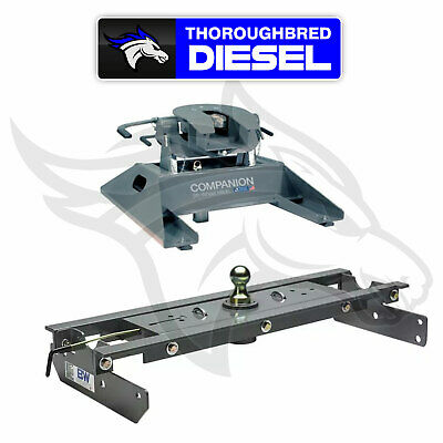 B&W Hitches Companion 5th Wheel Hitch RVK3500  With GNRK1384 Goosneck Hitch