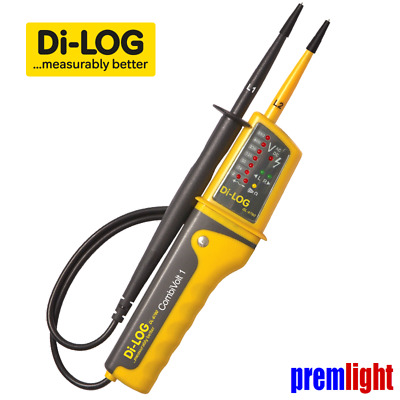 DL6780 DI-LOG  COMBIVOLT 1 VOLTAGE and CONTINUITY TESTER , PHASE ROTATION TEST