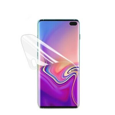 For Samsung Galaxy S10+ (Plus) Full Coverage Ultra Clear Screen Protector TPU