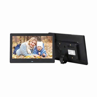"10.1"" HD DIGITAL PHOTO FRAME Calendar LED TFT LCD MP3 Audio Music Player ∮∝"