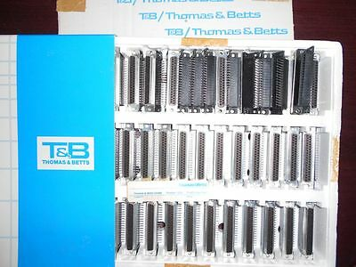 Thomas & Betts D-037-S-1-000 Lot of 45 pcs Ribbon Connector D-Sub 37 pol femal