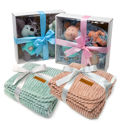 AllPetSolutions Dog Puppy Gift Set Kit Present Squeaky Chew Toys Soft Teddy Rope