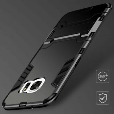 For Samsung Note Edge S8+ Rugged Armor Hybrid Bumper Case Shockproof Cover