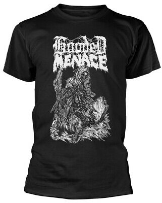 Hooded Menace 'Reanimated By Death' T-Shirt - NEW & OFFICIAL!