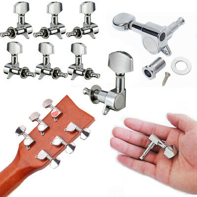 2× Acoustic Guitar String Full Closed Tuning Pegs Tuners Machine Heads Music CA