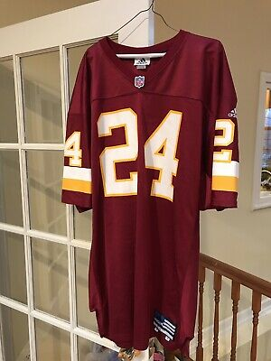 Champ Bailey game used worn Washington Redskins Denver Broncos 2000 jersey  sz 50 136fbfbf57e