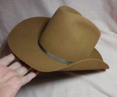 Western Cowboy Hat ~ Trail Ridge ~Water Repellent Fur Blend.dynafelt SIZE 1e0513f6fc93