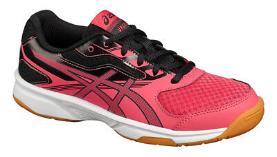 Asics Gel-UpCourt 2 GS Junior Indoor Court Shoes Rouge Red