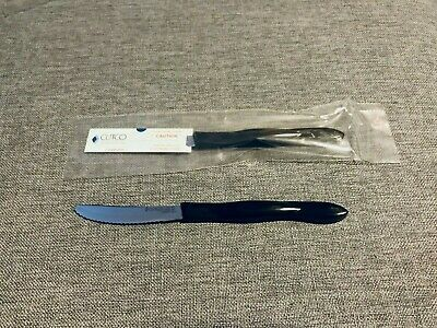 NEW ONE single Cutco Steak Table Knife 1759 Black Sealed Unopened - SHIPS FREE