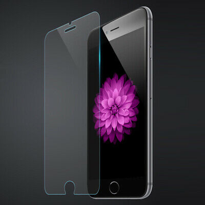 5x Screen Protector Tempered Glass 9H For iPhone 6 6S 5S 7 8 Plus SE 4S 5 5C X
