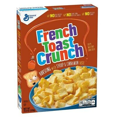 General Mills - Cereales Mini Tostaditas Francesas French Toast - 1 x 328 gramos