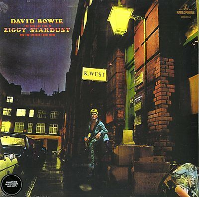 David Bowie The Rise And Fall Of Ziggy Stardust Vinile Lp 180 Grammi Nuovo