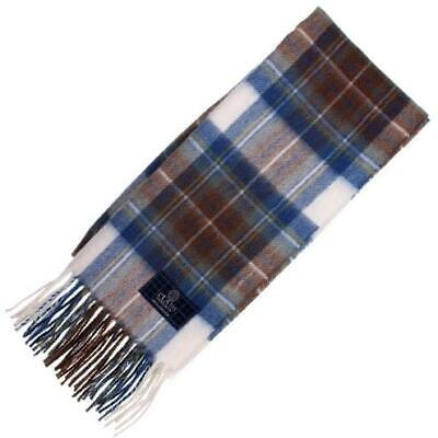 c365e54af Tartan Republic Stewart Muted Blue Tartan Scarf – Scottish Wool Clan Scarves