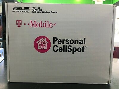 T-MOBILE ASUS TM-AC1900 Dual Band Personal WiFi Cellspot