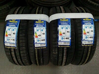 Treno completo 4 gomme Smart for two 451/453 155/60 15+175/55 15 estive OFFERTA