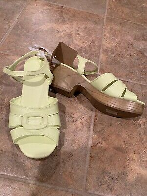 2cee74a1677 NWT $50-GIRLS CANDIES Off White Beaded Wedge Platform Sandals Shoes ...