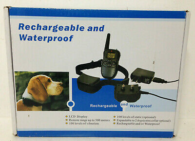 Petrainer Dog Training Collar - Rechargeable and Waterproof - One Dog UT59-R12