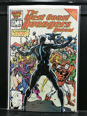 West Coast Avengers Annual #1 (1985 Marvel) Combined Shipping-Buy 2 Get 1 Free