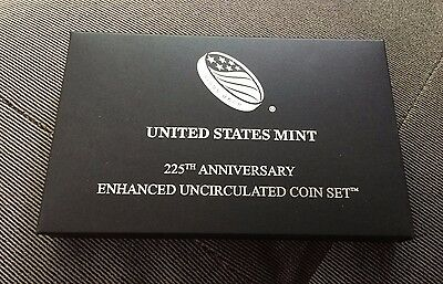 NEW 2017 225th Anniversary Enhanced Uncirculated Coin Set From US Mint w/COA
