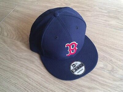 reputable site ea158 55ded New Era 9Fifty snapback Boston Red Sox baseball cap, Mint Condition, Navy  Blue
