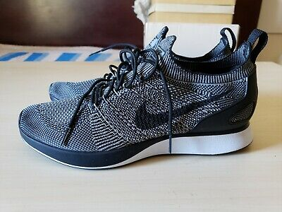 detailed look 943fe 5c0c5 Nike Air Zoom Mariah Flyknit Racer Running Mens Shoes Charcoal 918264-008  10.5