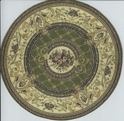 1:12 Scale Dollhouse Area Rug Round - 0001360 - approximately 6""