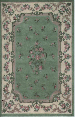 "1:12 Scale Dollhouse Area Rug 0001328 - approximately 5"" x 7-15/16"""
