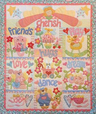 Playing with Angels - BOM quilt kit incuding all fabrics - Kookaburra Cottage