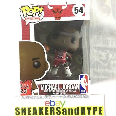 Funko Pop! MICHAEL JORDAN #54 In Hand Chicago Bulls NBA Vinyl Figure NEW