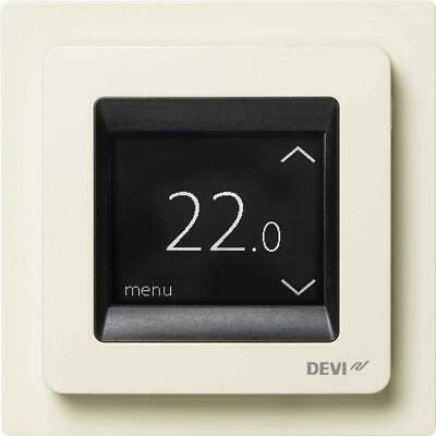 Devi Uhrenthermostat DEVIreg Touch ws IP21 Uhrenthermostate 140F1078