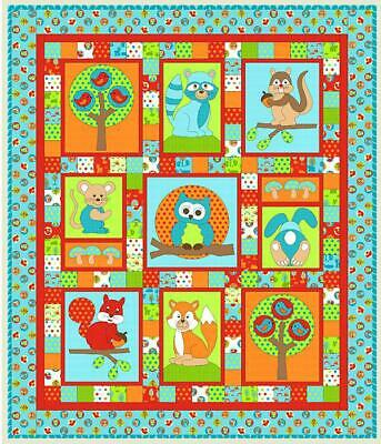 Forest Friends Quilt Kit from Kids Quilts