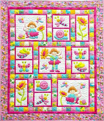 Pixie Girl Quilt Kit from Kids Quilts