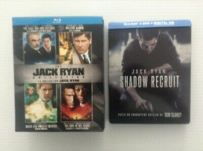 The Jack Ryan Collection + Jack Ryan:Shadow Recruit - Limited Edition Steelbook