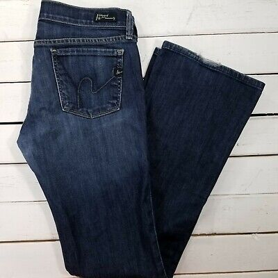 281e9e8a26e Citizens of Humanity Kelly Jeans Womens 29x33 Dark Wash Low Rise Bootcut  J1714