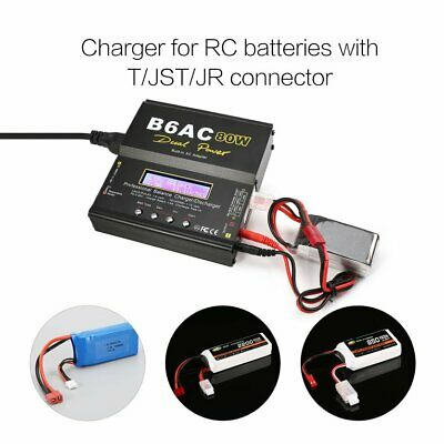 B6AC 80W AC/DC Lipo LiFe NiMh Battery Balance Charger Discharger for RC Model ❃⚡