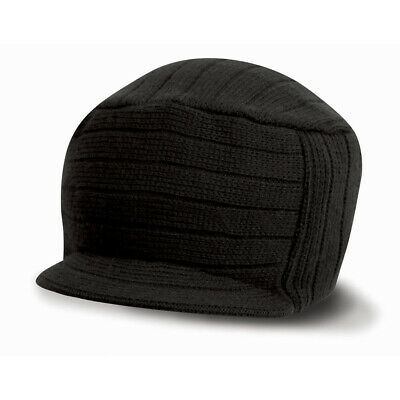 Bonnet Casquette Urban Fashion Noir