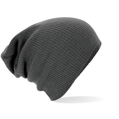 Bonnet Fashion Long Gris Graphite