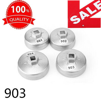 903 Cap Type Oil Filter Wrench Set Socket Automotive Removal Kit Hand Tools
