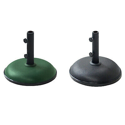 11kg Heavy Duty Concrete Round Umbrella Parasol Base Stand Garden Outdoor Patio